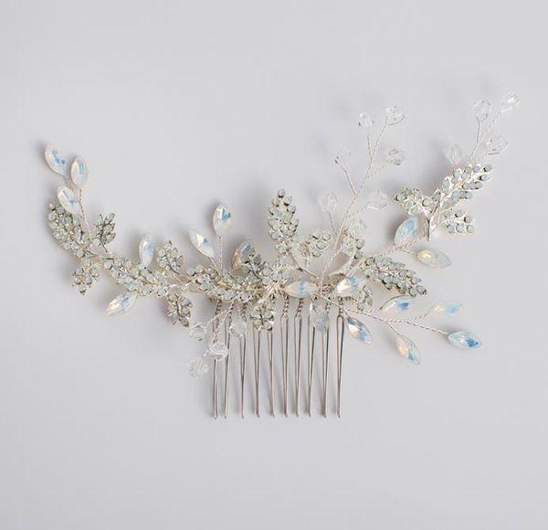 Bride's Fairy beauty headwear, hair comb, wedding dress, toast, accessories, accessories.
