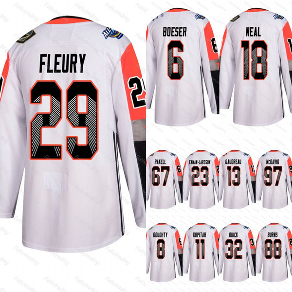 67 Rickard Rakell 2018 All-Star Game Connor McDavid Johnny Gaudreau Brent Burns Drew Doughty James Neal Brock Boeser Pacific Division Jersey