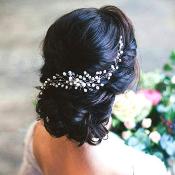 Bridal Hair Ornaments Fashion Hairwear Wedding Hair Accessories Comb for Hair Women Girl Headpiece Headdress Head Decoration Pin S918