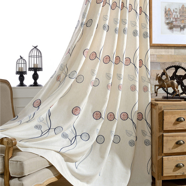 2019 Carnival Leaf, Cotton, Linen, Embroidery Curtain Fabric, Children\'S  Bedroom, Bedroom, Embroidered Fabric. From Shutie, $40.57 | DHgate.Com