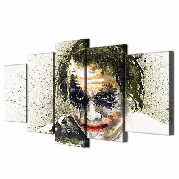 2019 Framed Hd Printed Batman The Dark Knight Joker Wall Art Canvas Print Poster Canvas Pictures Abstract Oil Painting From Kittyfang 36 06