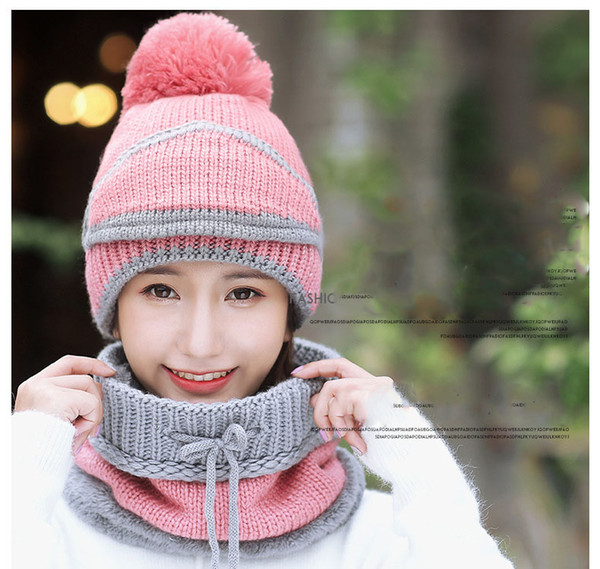 2018New Winter Balaclavas Beanie Female hat for girl boy and women Face Mask Cap Ski Winter Hat with Earmuffs Windproof Thick Warm Snow10pcs