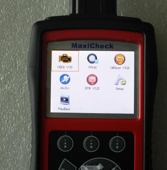 Autel MaxiCheck Pro Diagnostica Strumento di scansione Aggiorna internet Autel MaxiCheck Pro OBD2 Code Scanner Strumento Reset olio Scansione Airbag EPB ABS SRS SAS
