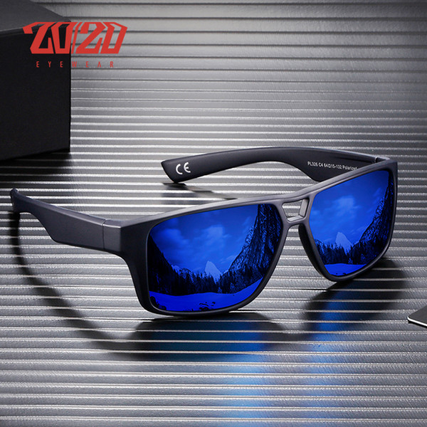 20/20 Brand Fashion Polarized Sunglasses Men Women Sun Glasses Male Classic Driving Shades Eyewear Oculos PL326