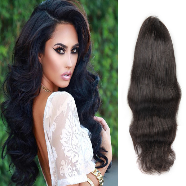 Big Deal Body Wave Natural Black Human Hair Popular Lace Front Indian Human Hair Wigs Factory Directly Supply