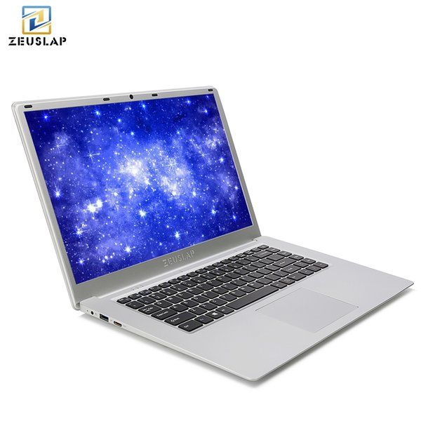 ZEUSLAP 15.6inch 6GB Ram 64GB eMMC 2TB HDD Windows 10 Intel Apollo Lake Quad Core CPU 1920*1080P Notebook Computer PC Laptop