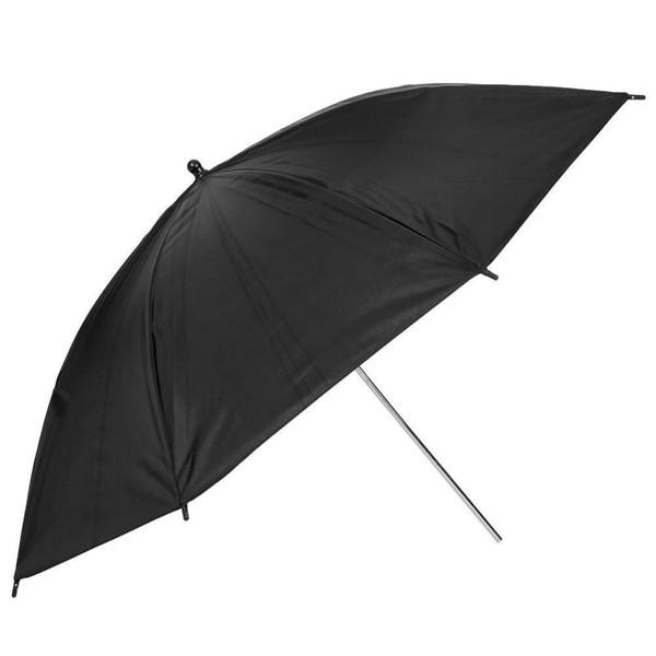 "Lightdow 2pcs/lot 33"" Inch 83cm Pro Studio Reflector Black Silver Soft Diffuser Umbrella for Studio Flash Lamp Lighting"