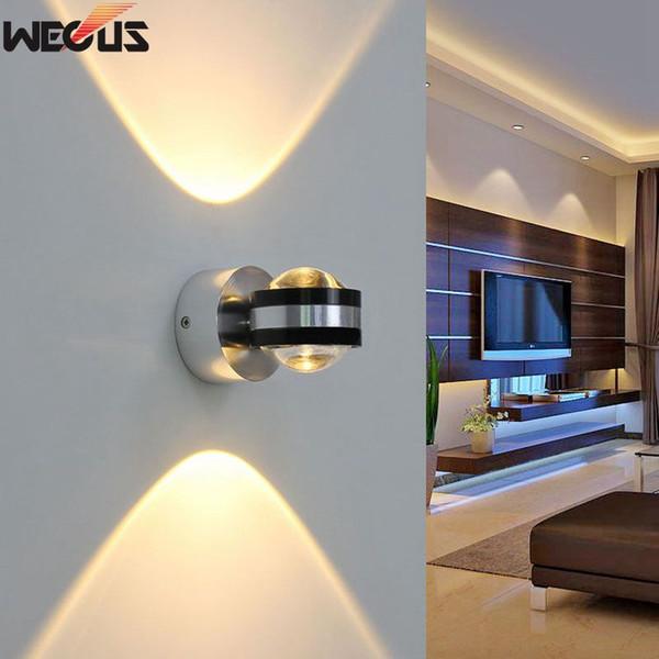 6W LED Sconce ,Bedside Light, Surface Mount Wall Lamp, Living Room Bedroom Hallway Corridor KTV Bar Wall lights Lighting
