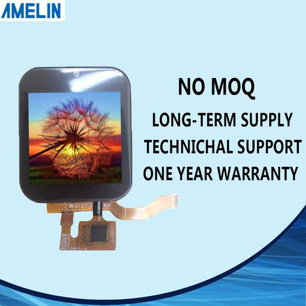 AML015410V1 1.54 inch 240*240 small TFT LCD module Screen with CTP touch panel and IPS viewing angle display