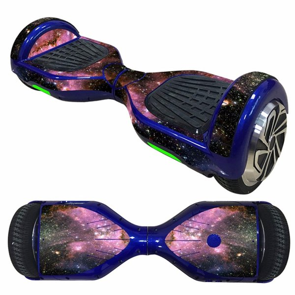 OUTAD 6.5 inch Self Balancing Scooter Skin Decal Cover Stickers Electric Skate Board 2 Wheel Protective Cover Case Stickers