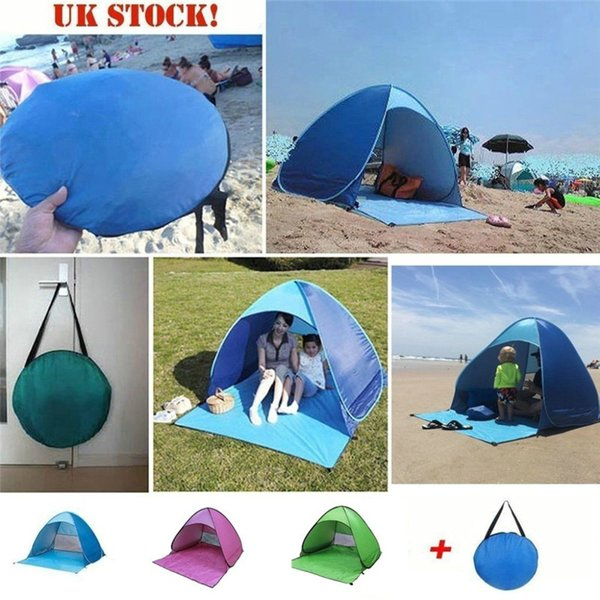 summer high quality Fully Automatic Set-up Camping Beach Shade Tent Speed Open Outdoor UV Protection