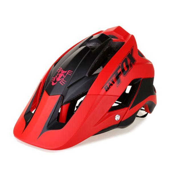 2018 new ultra-light bike helmet high quality mtb bike helmet overall molding  ciclismo 7 colour BAT  DH AM