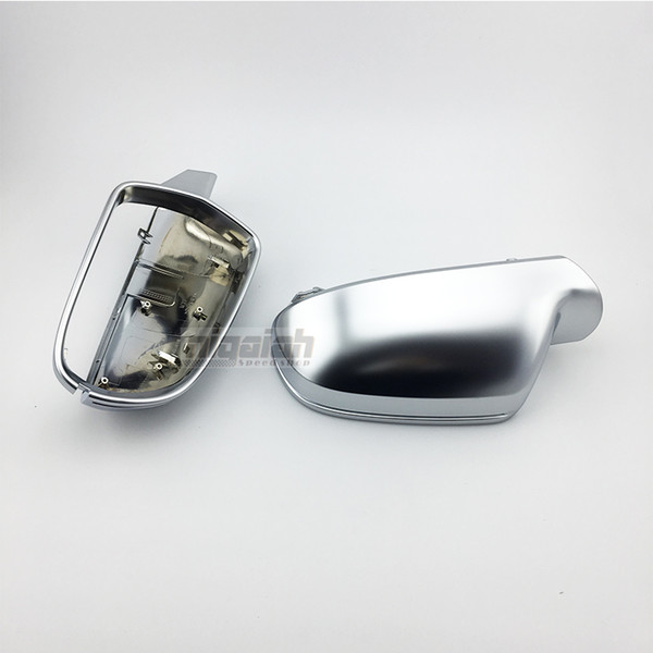 Car Mirror Replacement >> 2019 B8 5 Abs Matt Chrome Car Silver Side Rear Mirror Replacement Cover For Audi A4 A5 A3 S4 S5 S3 2010 2014 From Lai874097563 100 51 Dhgate Com