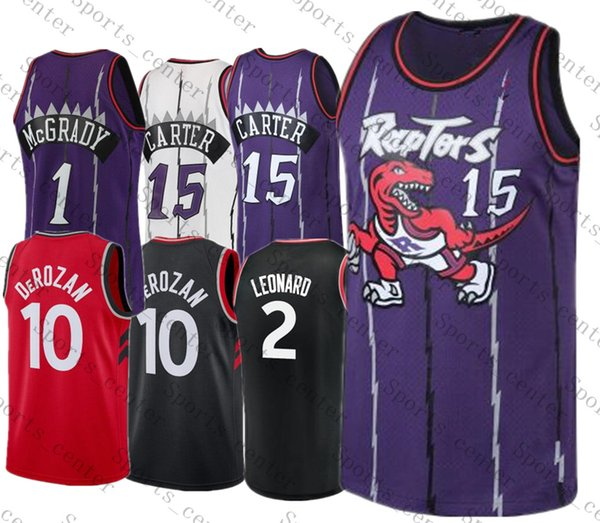 the latest 1d675 07578 2019 Vince 15 Carter Jerseys Toronto Mens Youth Raptor Jersey Tracy 1  McGrady DeMar 10 DeRozan Kawhi 2 Leonard Stitched Basketball Jerseys From  ...
