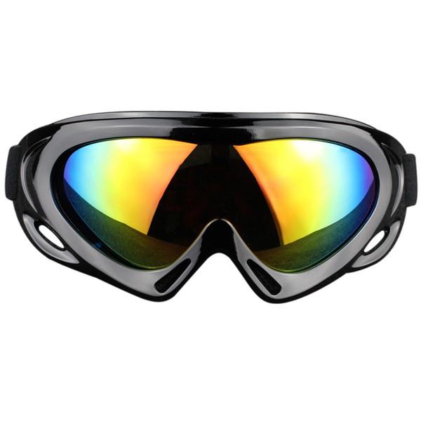 Lunettes de ski à couche unique anti-buée et anti-sable
