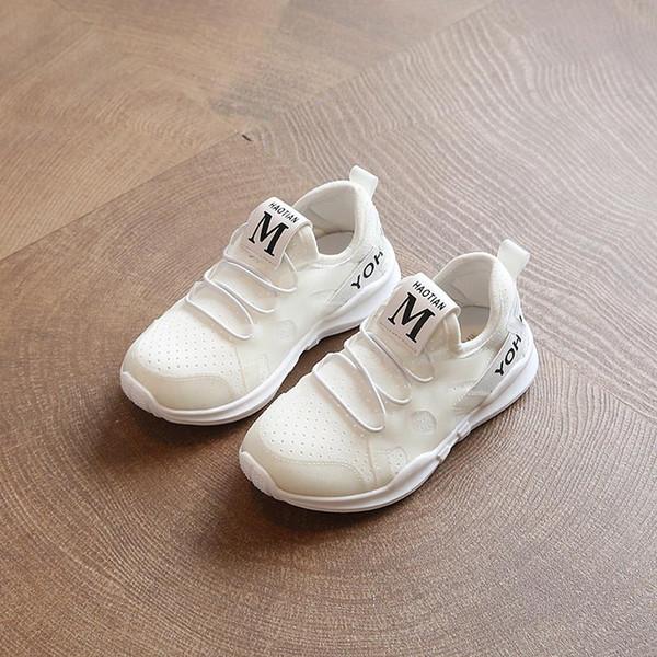 store10 Mädchen Baby Surface Weiße Sportschuhe Sportschuh Schuhe Von Yiwulei Kinder Weiche Net Frühling Auf Sohle 2018 Großhandel 31 Jungen sdhroQCtBx