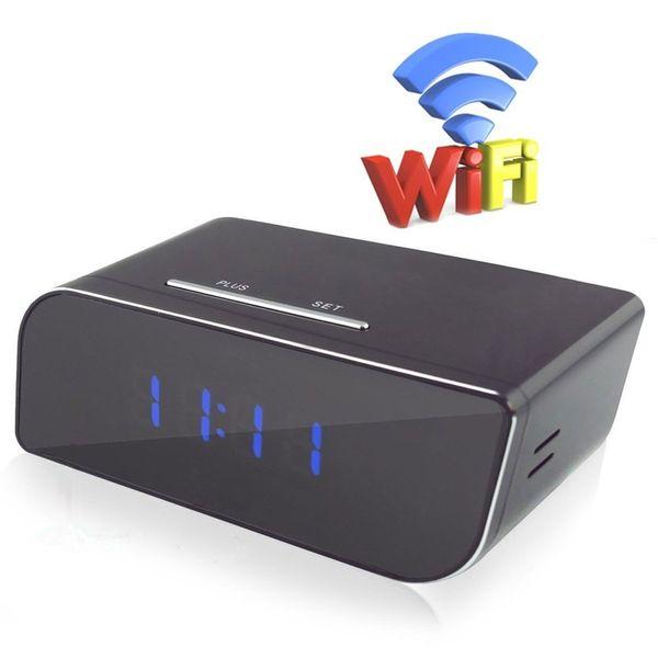 32GB HD 1080P Wifi Network Cameras Alarm Clock Super Camera Motion Detection Wireless IP Camera Mini Camera Real-time Monitoring Nanny Cam