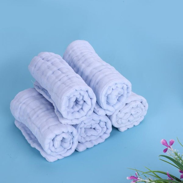 5pcs/lot 12 layers Natural Cotton Gauze Baby Nappies Liner Inserts For Baby Reusable Diaper Washable Cloth diaper Nappy Changing
