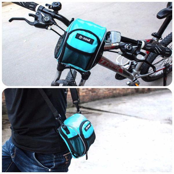 Bike accessories Cycling front bag frame tube handlebar rainproof bag bisiklet aksesuar traveling bike bags bicycle