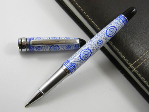 Kangroo Blue and White Porcelain Painting 0.5mm Rollerball Pen