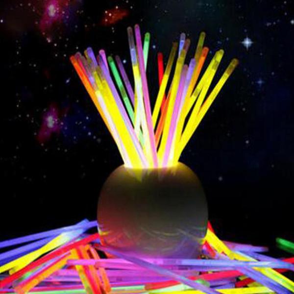party sticks Glow Sticks Bracelet Necklaces Neon Party LED Flashing Light Sticks Wand Novelty Toy charm gifts