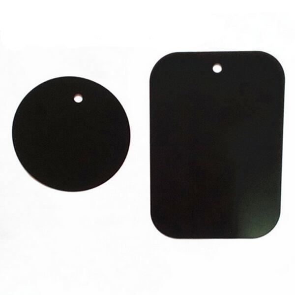 Venda quente Placa De Metal Universal Placa de Metal Kit de Substituição Com Adesivo Magnético Suporte para Montagem de Carro Ímã Do Carro Suporte Do Telefone Móvel