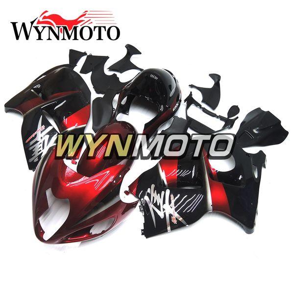 Full Fairings For Suzuki GSXR1300 Hayabusa 1997-2007 Injection ABS Plastic Body kit Motorcycle Fairing Cover Motorbike Black Red