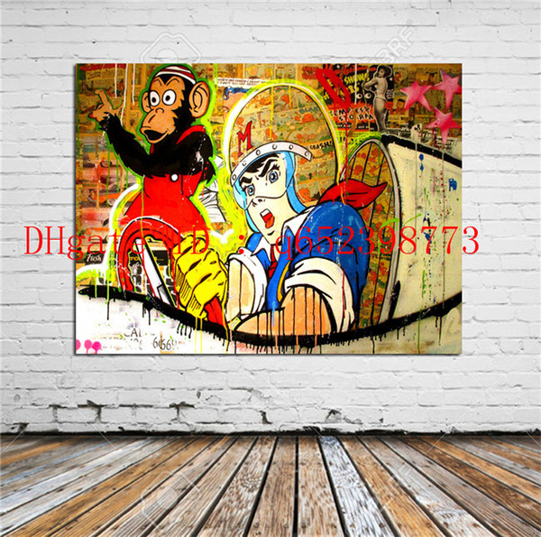 Alec Monopoly -8,Home Decor HD Printed Modern Art Painting on Canvas (Unframed/Framed)
