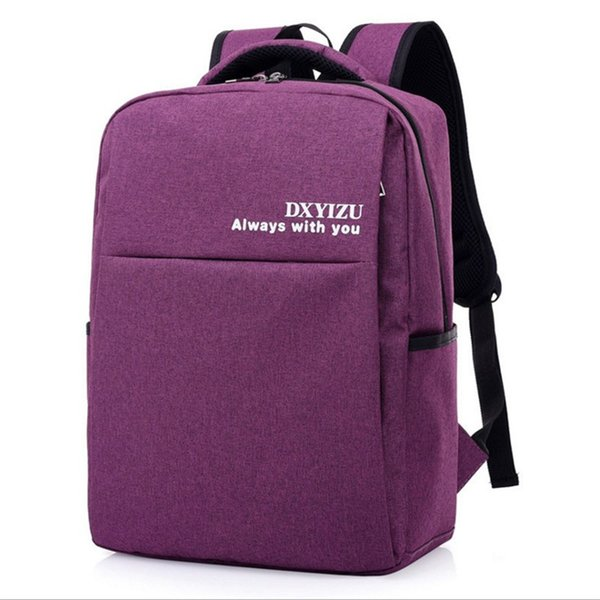 new backpack nylon water proof fashion students book bag leisure business large capacity men's travel laptop bag free holograms C18111901