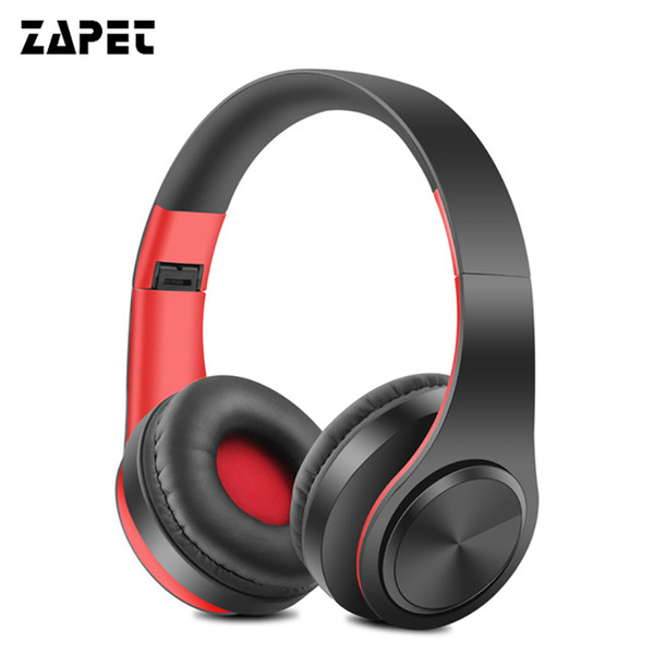 ZAPET Bluetooth Headset Headphones Earphone Stereo Foldable Sport Wireless Earphone with Mic Handfree for iphone xiaomi phone