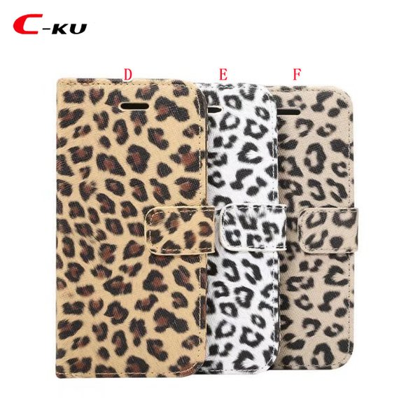 Jean Canvas Flip Wallet Leather Pouch Case For Samsung Galaxy NOTE 9 S9 PLUS Leopard Jeans Stand ID Card Cell Phone Skin Cover Luxury 50pcs