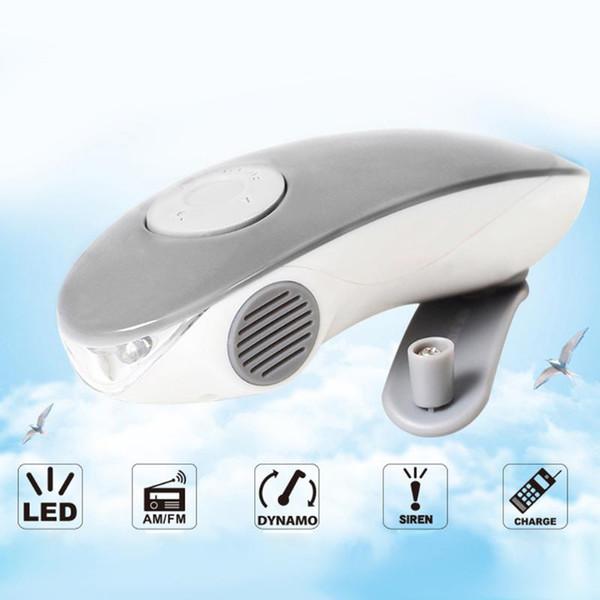 New 3 in 1 Emergency Charger Hand Cranking USB Charging Flashlight FM/AM Radio Emergency Phone Charger LED Flashlight MFBS