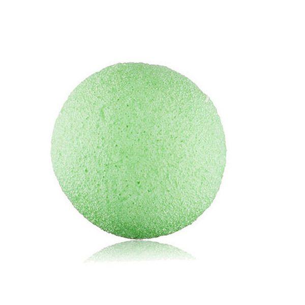 Natural Konjac Facial Puff Cara Limpiadora Esponja eponge konjac Facial Puff Lavado Facial Limpieza Esponja Verde Alta calidad