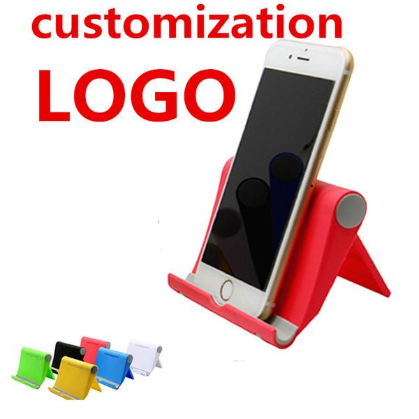 0-270 °regulation Universal folding holder Cell Phone Holder Desk Mount Holder for iphone ipad Samsung Tablet Pad