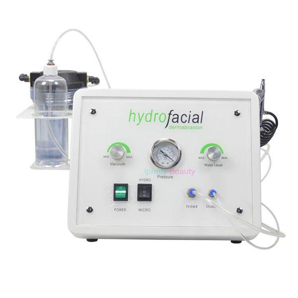 Ventes directes d'usine Équipement de salon de beauté portatif Hydra Diamond Microdermabrasion Jet d'eau Aqua Skin Peel Facial Beauty Machine à vendre