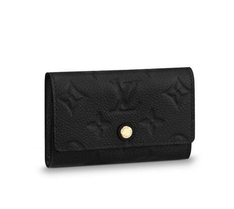 6 KEY HOLDER M64421 2018 NEW WOMEN FASHION SHOWS EXOTIC LEATHER BAGS ICONIC BAGS CLUTCHES EVENING CHAIN WALLETS PURSE