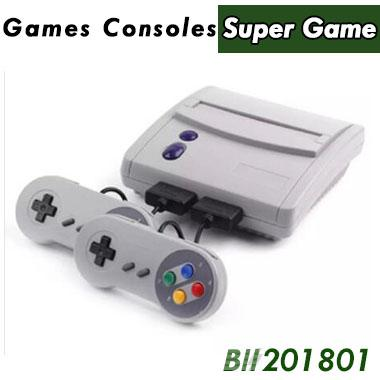 16 Bit Super Mini SFC Game Console Entertainment System 64 Classic Games For SNES with 2 Controllers 16pcs