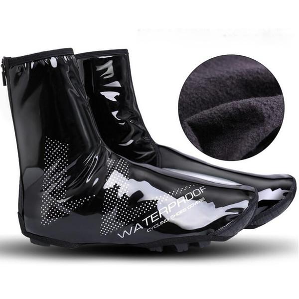 Bisiklet Termal Ayakkabı Kapak Kış Rüzgar Geçirmez MTB Bisiklet Ekipmanları Galoş Ultralight Koruyucu Isıtıcı Boot Kapak