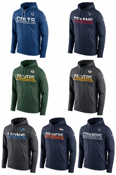 info for c0694 b6988 2019 Indianapolis Colts Dallas Cowboys Denver Broncos Green Bay Packers  Houston Texans Sideline Circuit Pullover Performance Hoodie From  Hoodiesno2, ...