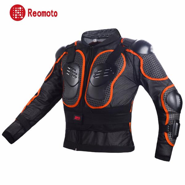 Reomoto гоночный мотоцикл тело броня мотокросс куртка внедорожных безопасность охранник