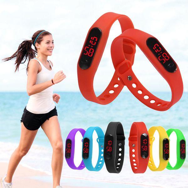 Datums-Sport-LED der Männer der Digitaluhr-Frauen Digital Armbanduhr-Armbanduhr-Sport-Armbanduhr-Gummi-LED Dropshipping