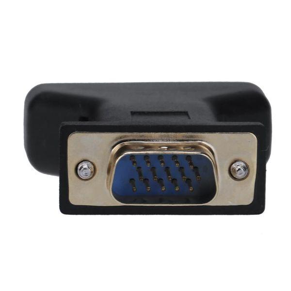 ALOYSEED VGA Erkek 3 rca Kadın Dönüştürücü Adaptör Splitter Tel Bağlayıcı D-sub 15-pin VGA 3 RCA Dönüştürücü Adaptör