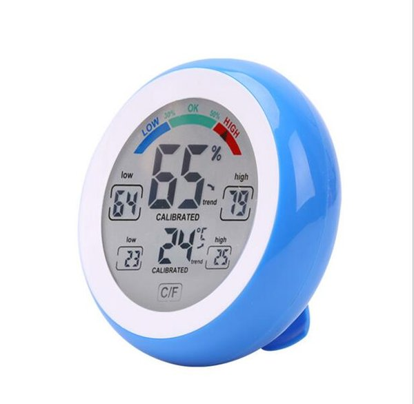 Цифровой термометр погоды Влажность IndoorOutdoor гигрометр термометр высокоточный цветной дисплей