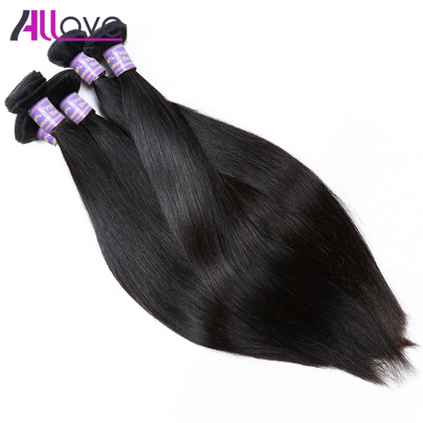 Cheap 8A Brazilian Hair Bundles 10PCS Wholesale Peruvian Hair Indian Silky Straight Virgin Hair Bundles Free Shipping For Black Women