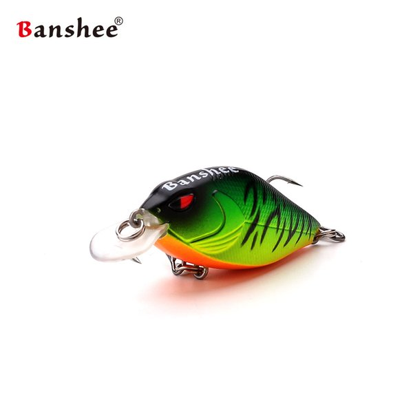 Banshee 58mm 9g Snoop VIBS VKR58 Shallow Diving Crankbaits Fishing Lure Rattle Sound Wobbler Artificial Hard Artificial Bait Y18100806