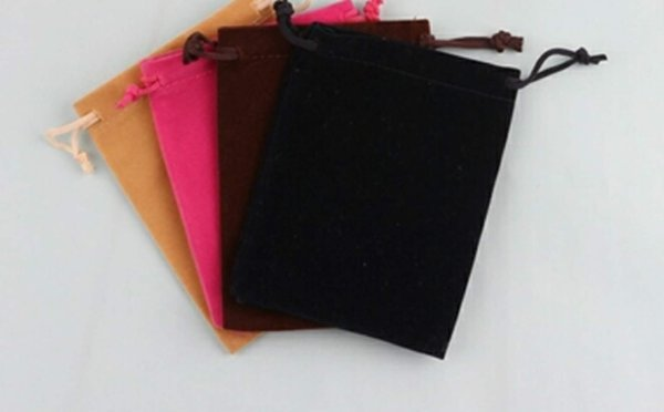 jewelry packaging display jewelry pouches bags flannelette flannel bag shu pull rope small size portable source jewellry bag new solid