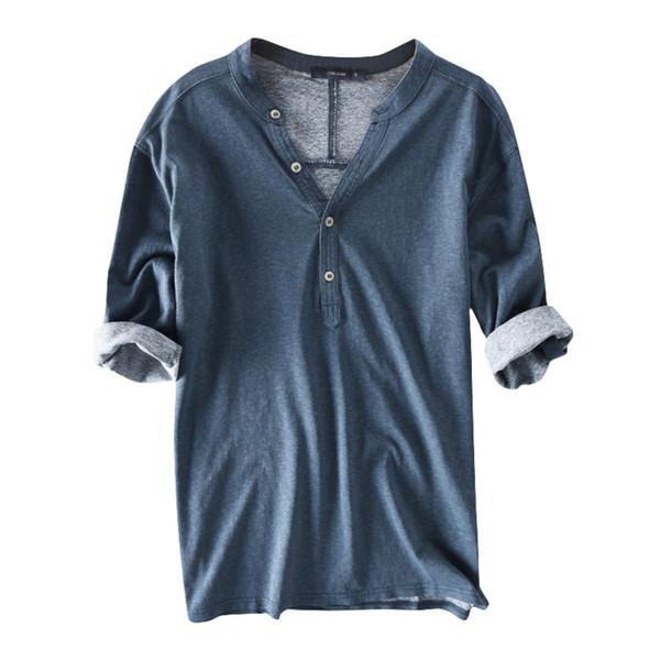 Azul camiseta