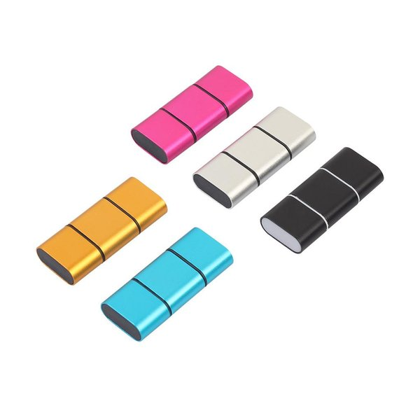 Portable Mini OTG Type C To USB 2.0 Micro SD TF Card Reader Adapter For Android PC