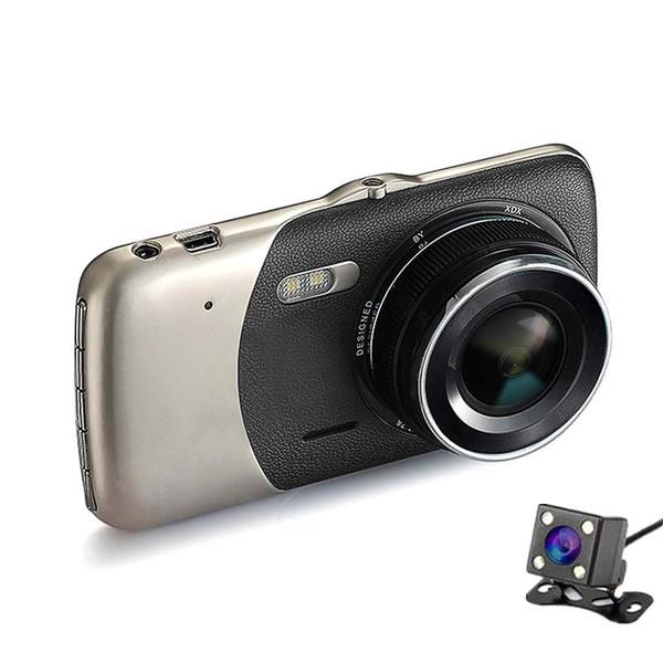 PRIME VERSION JIELI CHIP 4,0 Zoll IPS Bildschirm Auto DVR Doppelkamera Aufnahme Full HD 1080P Video 170 Grad Dash Cam 1 STÜCK / LOT