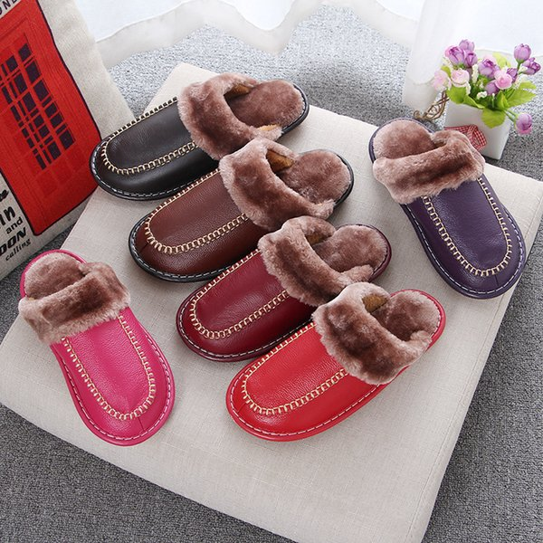 Shoes Women For Indoor Use Fashion Home Slippers Hose Shoes Comfortable Slipper Winter Shoes NA242